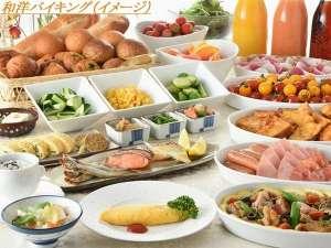 福山ニューキャッスルホテル:和洋バイキング(朝食イメージ)