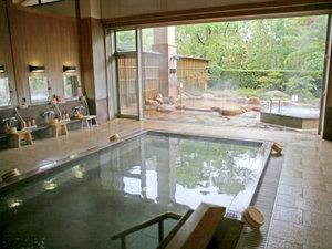 有馬温泉 兵衛向陽閣:【三の湯】やわらかい日差しがそそぎ、清らかな気分でご入浴いただけます。