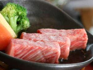 有馬温泉 兵衛向陽閣:【神戸牛・木の葉鉄板焼き】厳選した神戸牛を使用 ※イメージ