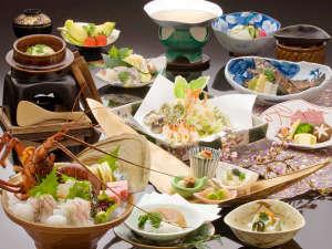 有馬温泉 兵衛向陽閣:【春彩・旬づくし】旬の魚介類をはじめ、彩りも鮮やかな春の食材を贅沢に取り入れた特選料理。※イメージ