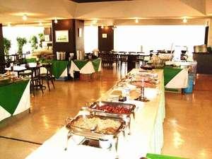 東京ビジネスホテル:朝食ブッフェ会場