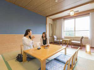 休暇村 乳頭温泉郷:落ち着いた雰囲気の8畳和室