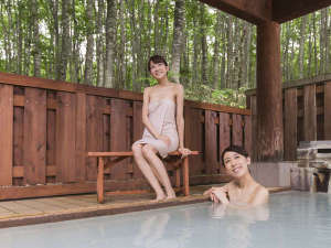 休暇村 乳頭温泉郷:ぶなの森に囲まれた露天風呂でリフレッシュ!してみてはいかがですか?
