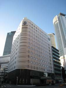 ホテル外観♪名古屋駅徒歩2分の好立地。ほんとに近いです♪