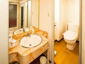 ホテル町田ヴィラ:「ダブル・スタンダードツイン・DXツイン」はバス・トイレ・洗面台別の癒しの空間♪