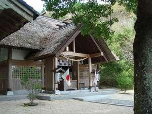 高家神社社殿