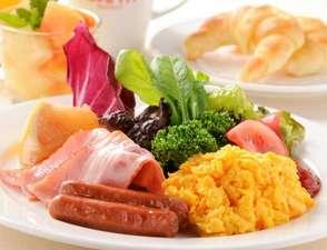 インターナショナルガーデンホテル成田:【朝食イメージ】★和洋バイキングスタイルのご朝食でエネルギーチャージ!!