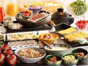 旭川トーヨーホテル:お客様クチコミ4,1点和食がメインの朝食バイキング(一例)