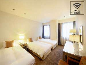 旭川トーヨーホテル:喫煙・禁煙トリプルのひと部屋