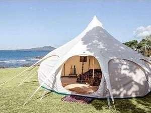 奥琵琶湖マキノグランドパークホテル:グランピングテント 湖畔でグランピングステイを満喫♪