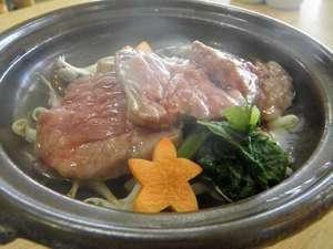 御前崎旬彩:地元ブランド牛「夢咲牛」 脂に甘味があってとてもおいしいですよ!
