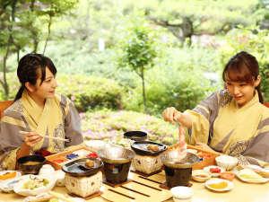 飛騨高山温泉 高山グリーンホテル:和食会席で旬の味覚を愉しみます♪