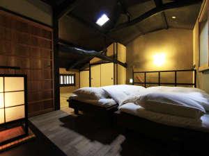 山中油店 町家ゲストハウス:西対 ベッドルーム