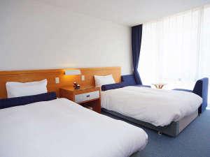 【洋室】ビジネス利用も安心。Wi-Fi完備のすっきりコンパクトなお部屋です。