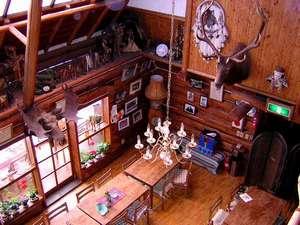 ホープロッヂ乗馬牧場 手作りログハウスの宿