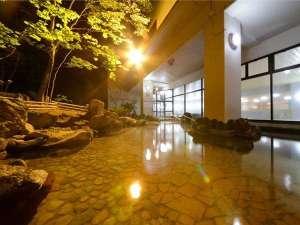 八幡平ロイヤルホテル:男性露天風呂【イメージ】