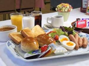 川崎セントラルホテル:洋食ビュッフェスタイルの朝食