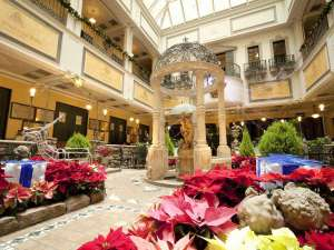 ホテルモントレ札幌:冬の英国風庭園ウィンターガーデン♪