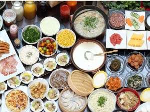 ホテルモントレ札幌:北海道産食材をメインにした約40品目の和洋食朝食バイキング♪