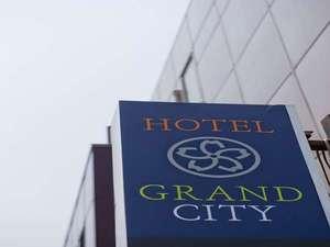 ビジネスホテル グランドシティー:看板1