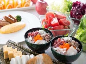 ヒルトン小田原リゾート&スパ:朝食で人気の海鮮丼