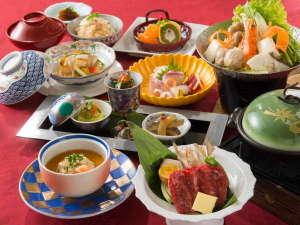 奈良の温泉付ホテル 橿原ロイヤルホテル:2016年冬日本料理会席イメージ