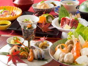 奈良の温泉付ホテル 橿原ロイヤルホテル:前菜から種類豊富な嬉しい七種盛り!レディース会席イメージ