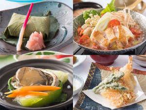 奈良の温泉付ホテル 橿原ロイヤルホテル:料理長いち押し!奈良の代表的な郷土料理を味わえる万葉会席です。(※写真はイメージです。)