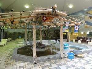 豊の国健康ランド ホテル豊の国:●天然温泉長寿風呂● 腰の高さにジェット水流が当たります。