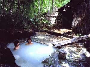 山の宿:貸切露天風呂