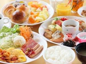 金沢国際ホテル:朝食は食べ放題!和洋バイキング♪
