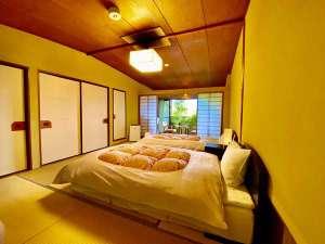 【純和室10畳】ベッド設置(エアウィーブ)
