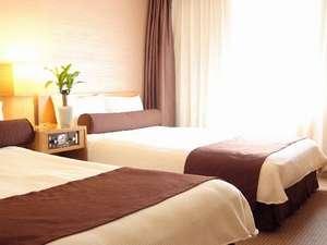 横浜国際ホテル:【ツインルーム】 広さ19㎡ ベッドサイズ110cm