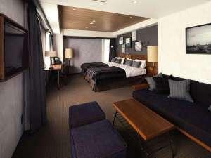 ホテル・ザ・ノット ヨコハマ (旧:横浜国際ホテル):ラージツインルーム【禁煙】120cm幅
