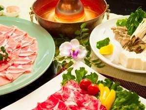 足和田ホテル:しゃぶしゃぶ・すき焼き食べ放題コース~③~