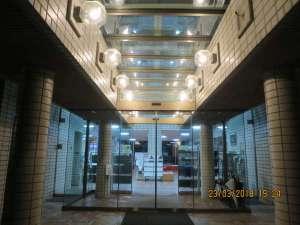 偕楽園ユースホステル:エントランス