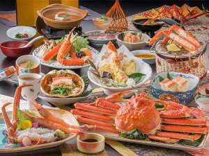 山代温泉 ゆのくに天祥:冬の味覚「蟹づくし会席」(2016年度)