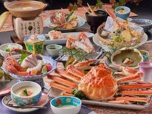 山代温泉 ゆのくに天祥:冬の味覚「蟹づくし会席」(2018年度冬)