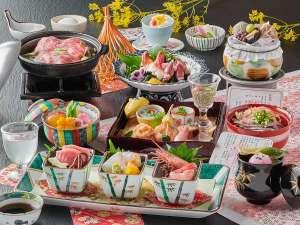 基本料理「白雲膳」(2019年春/イメージ)