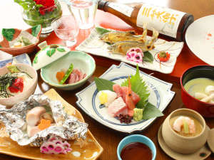 となみ野オーベルジュ&スパ 桜ヶ池クアガーデン:【和食コース】鮎や季節の素材を活かした人気の和食