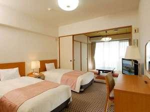ウィスタリアンライフクラブ熱海:【◆全室オーシャンビュー&◆客室で温泉をご利用いただけます】和洋室の一例