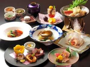 ウィスタリアンライフクラブ熱海:2017年秋・グレードアップ夕食メニュー「大島」
