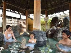 虹の宿 Hotel 花景色:家族で入っても広々!貸切風呂「ききょう」