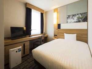 ホテルメッツ国分寺 東京<JR東日本ホテルズ>:■シングルルーム(16㎡)ベッドサイズ140cm×195cm 個別空調システム