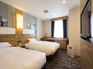 ホテルメッツ国分寺 東京<JR東日本ホテルズ>:■ツインルーム(21㎡)ベッドサイズ120cm×195cm 個別空調システム