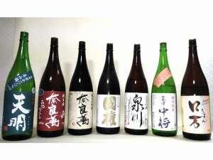 湯岐温泉 山形屋旅館:オススメ福島の銘酒