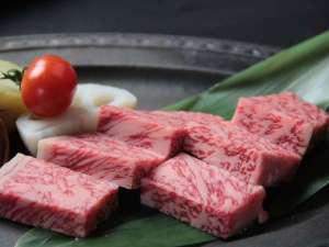 湯屋温泉 炭酸泉の温泉旅館 ニコニコ荘:飛騨牛ステーキ