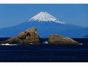 露天風呂の宿 半右衛門:世界でいちばん富士山がきれいに見える町、松崎町。中でも当雲見からは格別ですよ♪