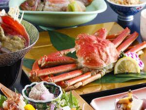 海と味の宿 和倉温泉 宿守屋寿苑(やどもりやじゅえん):丸ごと1杯の茹でガニ