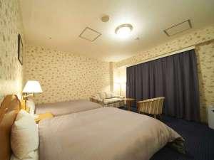 ホテルサンルートソプラ神戸:【スーペリアツインルーム】 お寛ぎの時間をお過ごしください